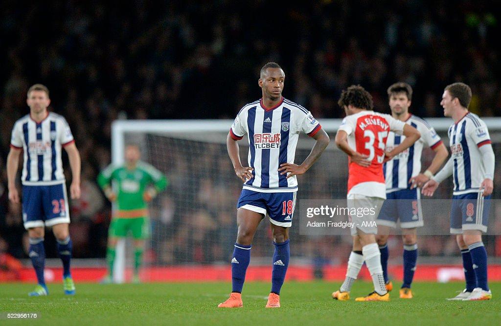 Arsenal v West Bromwich Albion - Premier League : Nachrichtenfoto