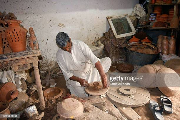 Saidpur Village is Situated in outskirts of Pakistan's Capital city Islamabad and famous for its pottery artwork.