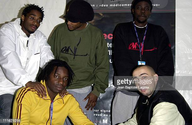 SaIen Supa Crew during Paris 2002 Solidays Festival - SaIen Supa Crew Concert at Hippodrome de Longchamp in Paris, France.
