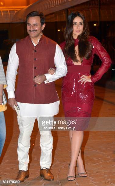 Saif Ali Khan and Kareena Kapoor Khan at Soha Ali Khans book 'The Perils Of Being Moderately Famous' launch at Taj Lands End in Mumbai