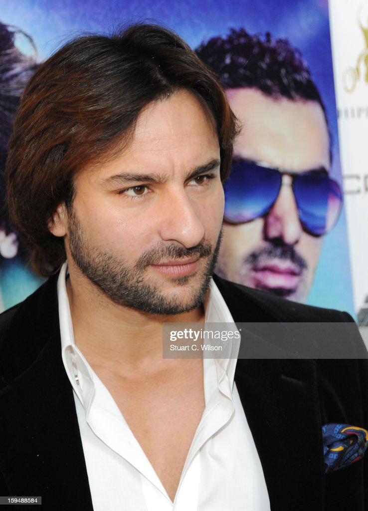 Saif Ali Khan attends a photocall for 'Race 2' at Hippodrome Casino on January 14, 2013 in London, England.