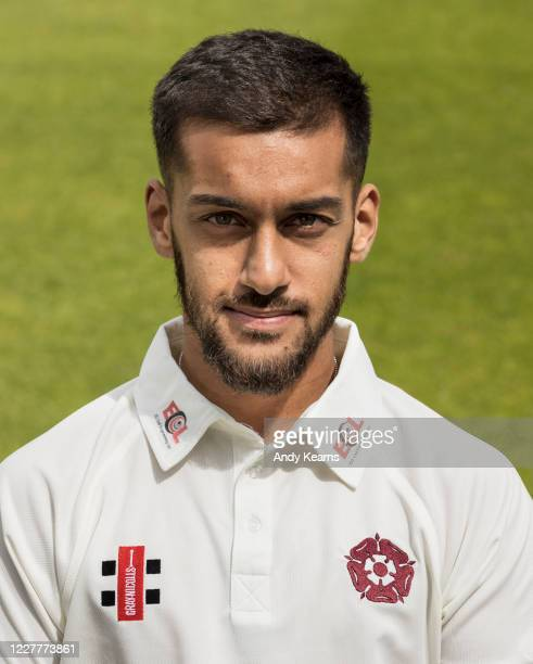 Saif Zaib of Northamptonshire during the Northamptonshire County Cricket Club Photo Shoot at The County Ground on July 10 2020 in Northampton England