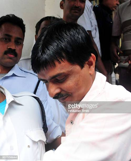 Saiful Ali one of the culprits in 2013 Kamduni gangrape and murder case comes out from prison van after being pronounced guilty at City Session Court...