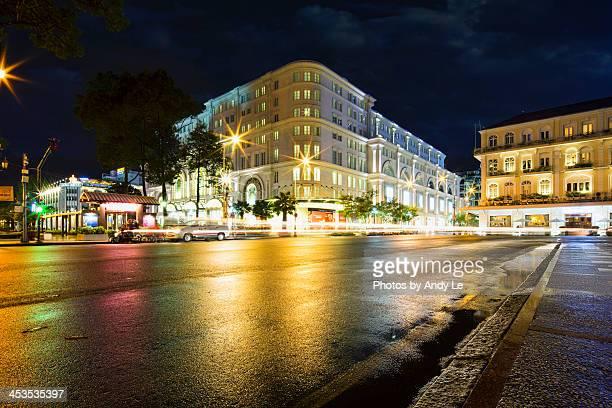 Saigon after night rain