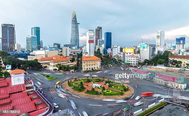 サイゴン美容時のダウンタウンにある - vietnam ストックフォトと画像
