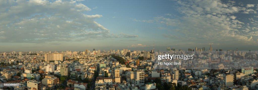 Saigon skyline : Stock Photo