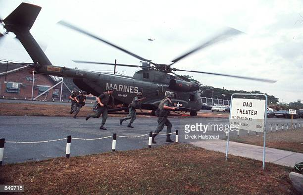 Saigon South Vietnam falls to the communist from the North after intense fighting Many try to flee by ground air and sea with the help of American...