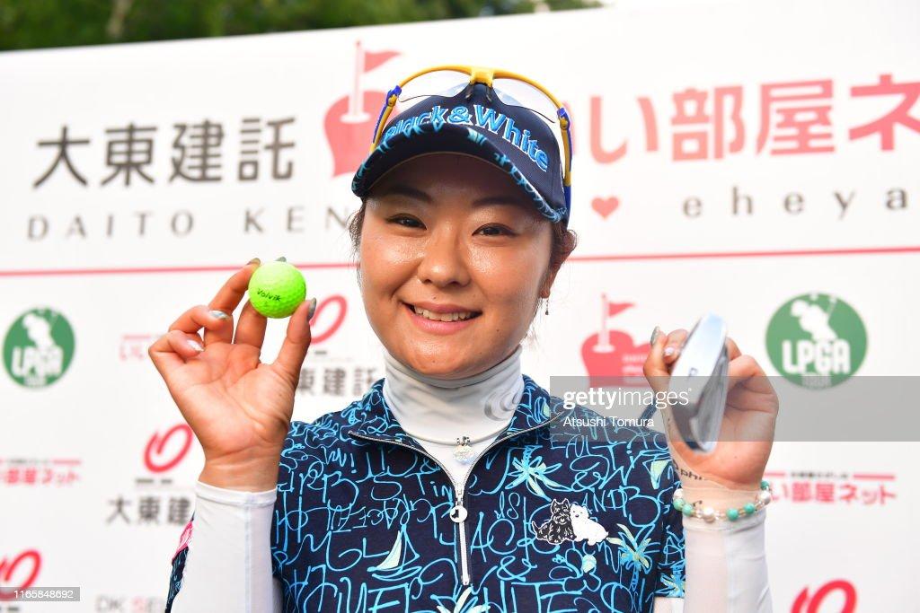 Daito Kentaku eHeya Net Ladies - Round Three : ニュース写真