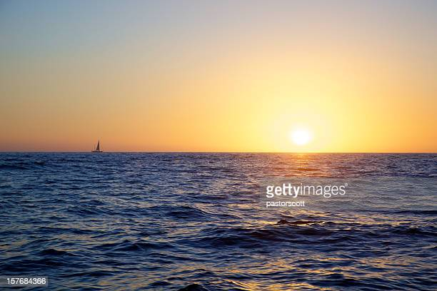 Bei Sonnenuntergang Sail