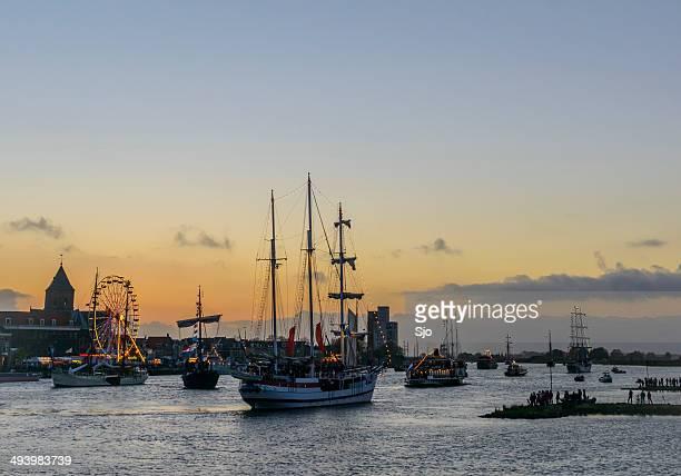 "sail kampen event - ""sjoerd van der wal"" or ""sjo"" stock pictures, royalty-free photos & images"
