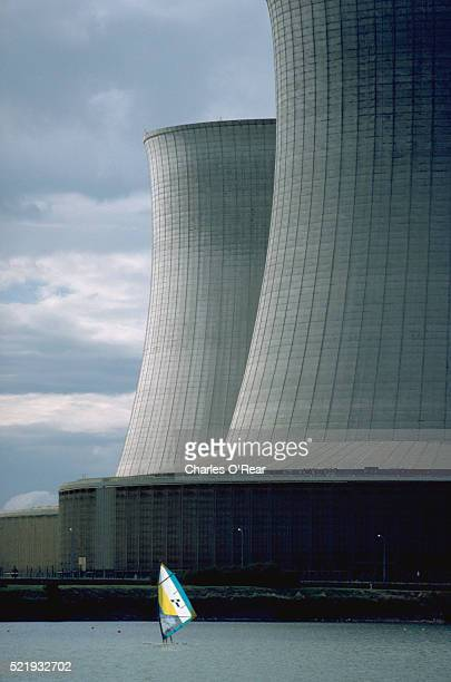 Sailboard and Nuclear Cooling Towers