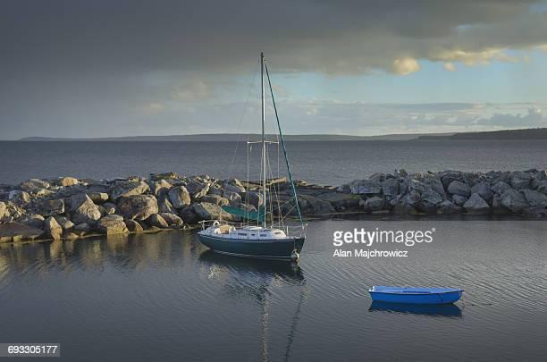 Sailboat Blue Rocks Nova Scotia