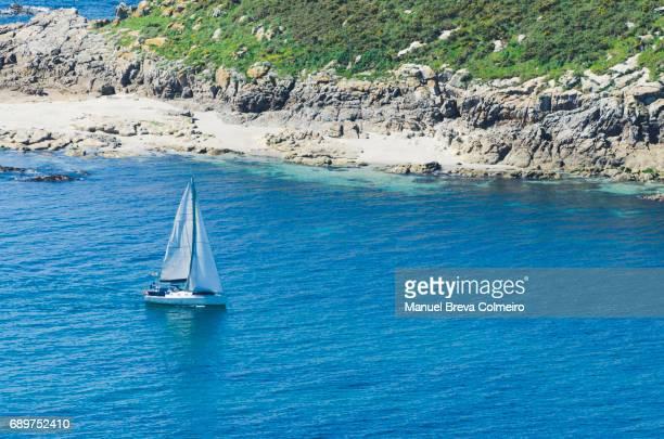 Sailboat in Galicia