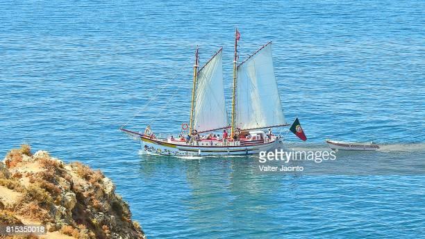Sailboat in Lagos, Portugal