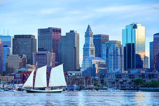 Sailboat On Boston Harbor 1035010750