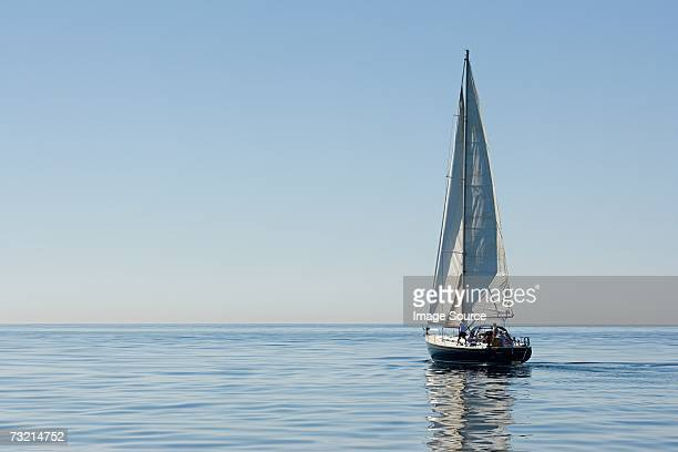 sailboat - yacht stock pictures, royalty-free photos & images