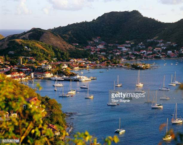 Sailboats in Harbor of Iles des Saintes