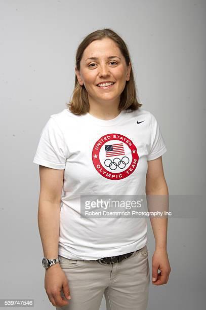 Sailer Debbie Capozzi at the Team USA Media Summit in Dallas TX in advance of the 2012 London Olympics