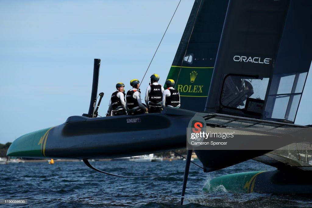 SailGP Team Australia Skippered By Tom Slingsby Heads To