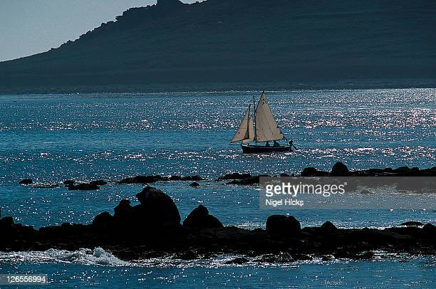 sailing among islands. - isles of scilly stock pictures, royalty-free photos & images