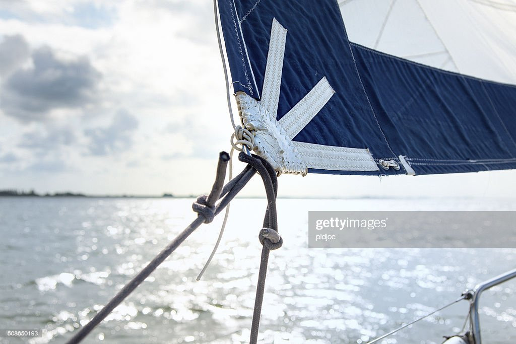 Sailing boat on the sea : Stock Photo