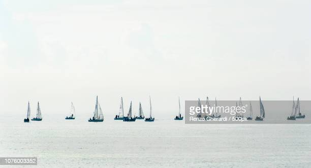 sailing boats - renzo gherardi stock photos and pictures