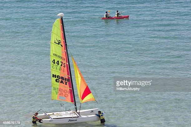 sailing by saint malo - ille et vilaine stock pictures, royalty-free photos & images