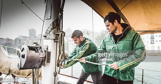 Navegación tripulación bobinado cabestrante sydney, Australia