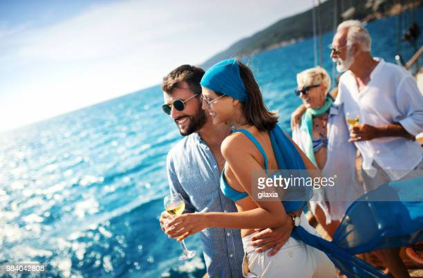sailing cruise leisure. - passenger craft stock pictures, royalty-free photos & images