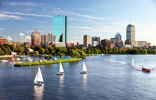 Sailing in Boston 469769544