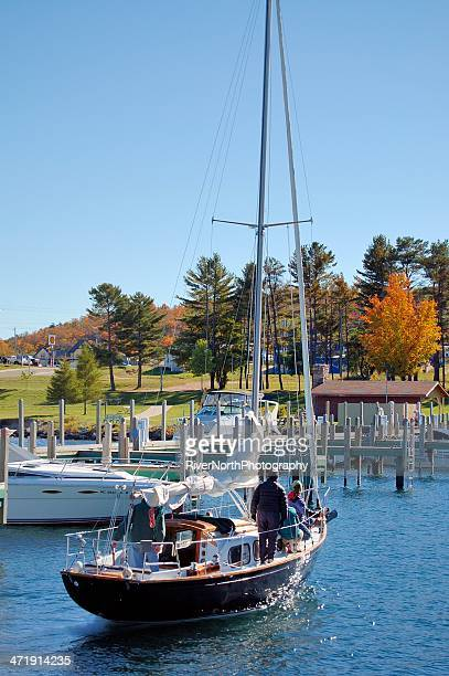 Sailing in Munising, Michigan