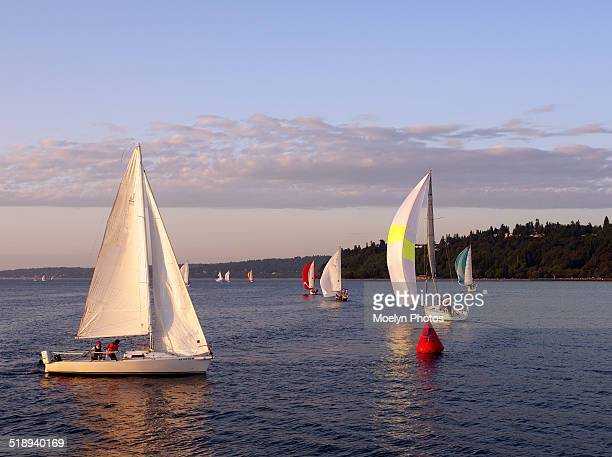 Sailing in Puget Sound