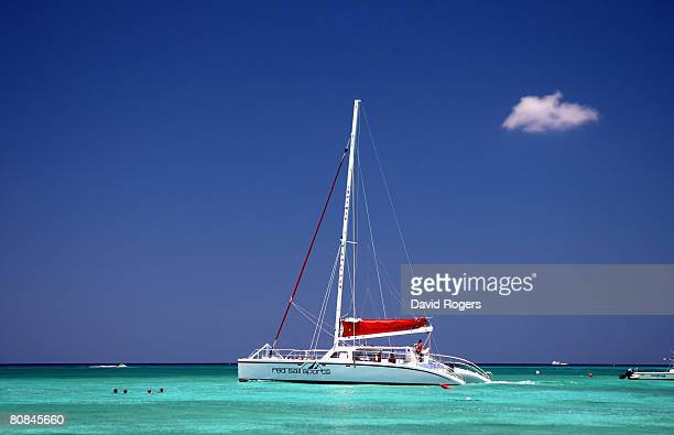 Sailing off Seven Mile Beach on 24 April 2008 in Grand Cayman Cayman Islands