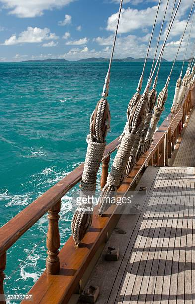 Sailing on a classic wooden schooner
