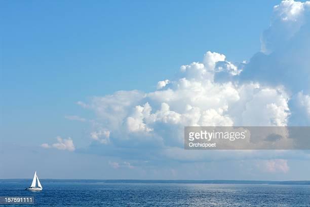 Sailing On Lake Huron