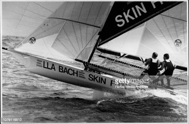 Sailing on Sydney harbourBad luck Craig Nutter and Craig Ramsden are in control of the Ella Bache on Sydney harbour yesterday as skipper Adrienne...