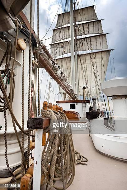 Navigation à voile sur la mer Baltique