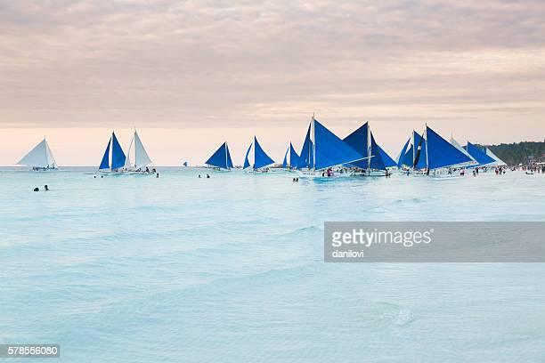 Sailing on the Boracay