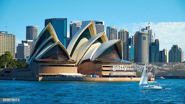 セーリングを、シドニーオペラハウス