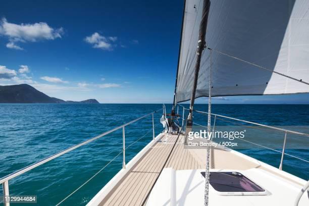 sailing - liguria foto e immagini stock
