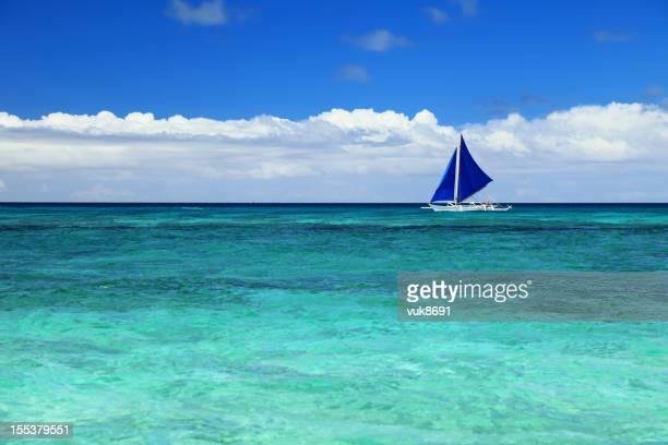sailing - catamaran sailing stock photos and pictures