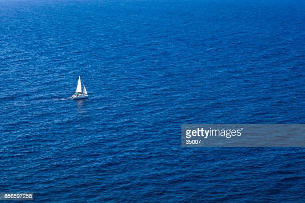 sailing ship and the open ocean