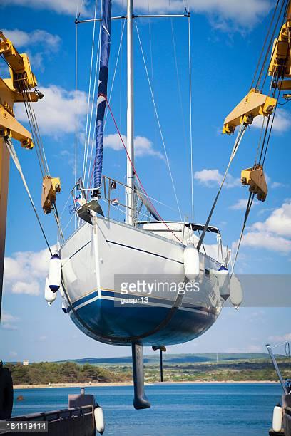 sailing ship launch