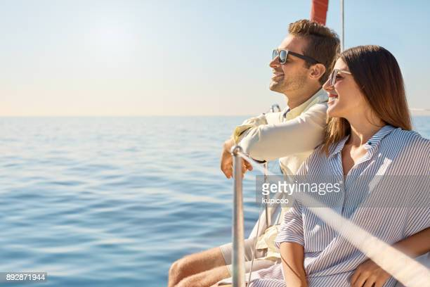 sailing their way through summer - cruise stock pictures, royalty-free photos & images