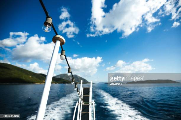 Sailing through the Ionian sea