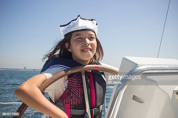 sailing trip to catalina island, ca - sailor hat stock pictures, royalty-free photos & images