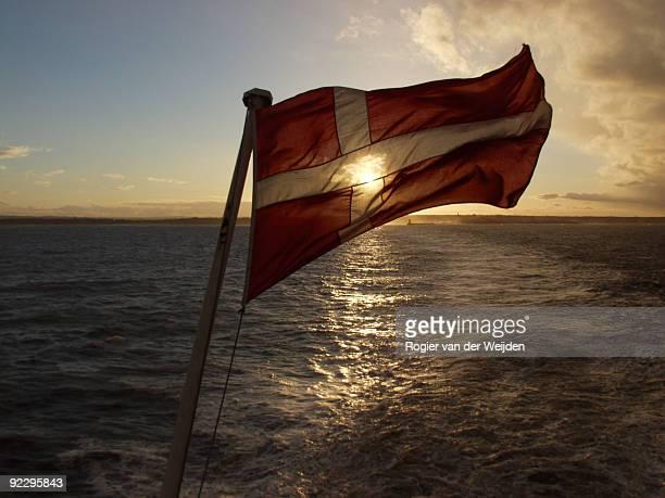 Sailing under the Danish flag