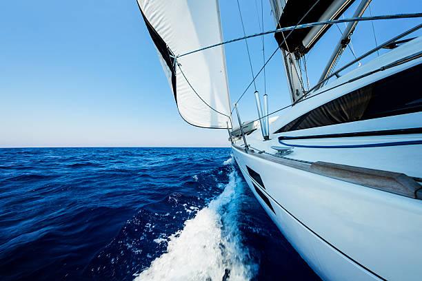 Sailing With Sailboat Wall Art