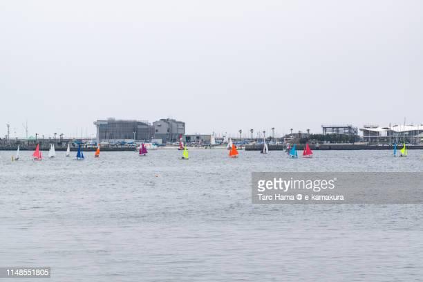 Sailing yachts in Japan
