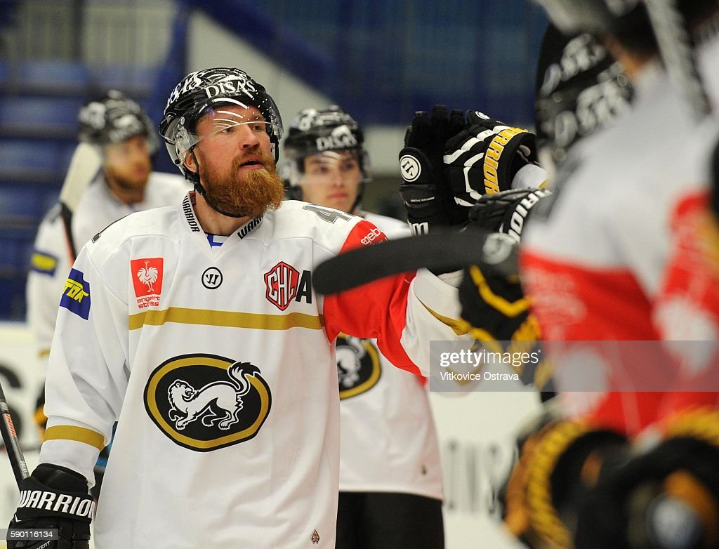 Vitkovice Ostrava v Karpat Oulu - Champions Hockey League : News Photo
